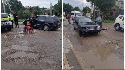 /ВИДЕО/ В Бельцах полиция устроила погоню за пьяным водителем. Задержанный оказывал сопротивление