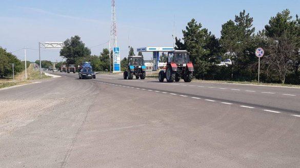 Протестующие фермеры заблокировали трассу Кишинев-Каушаны