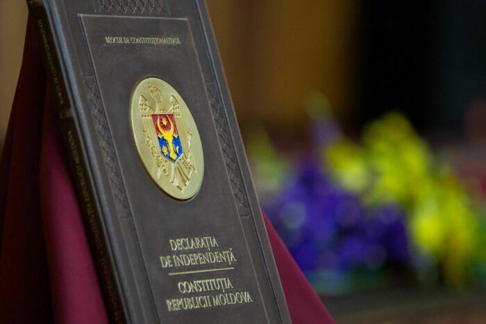 Ренато Усатый высказался за разработку и принятие новой Конституции, а до тех пор призвал уважать действующую