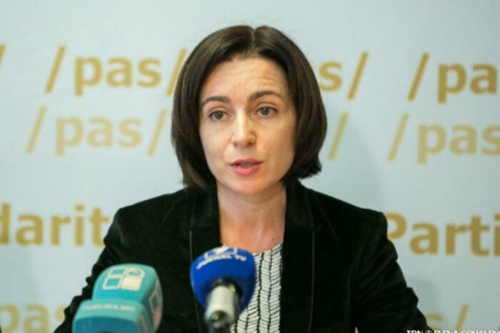 Санду заявила, что, став президентом, может начать процедуру увольнения генпрокурора