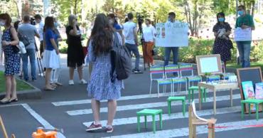 В столице опять протестуют