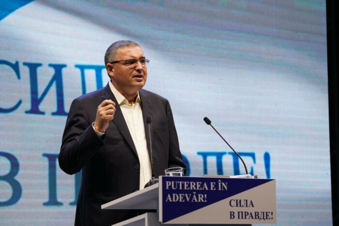 Ренато Усатый: Молдове нужен настоящий президент, а не помятый кулёк