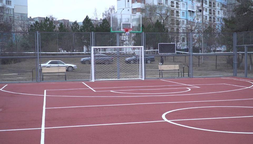 В Бельцах еще 4 новые спортивные площадки приняты в эксплуатацию