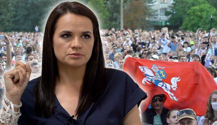 Тихановская объявила о готовности стать национальным лидером
