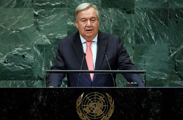 Генсек ООН призвал немедленно прекратить бои в Карабахе