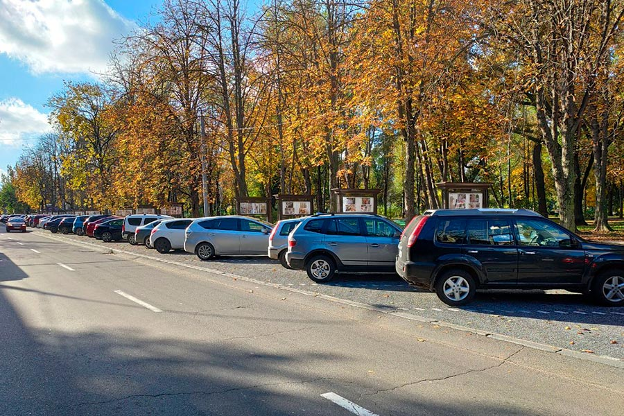 Места для парковок в центре Кишинёва определят до конца года