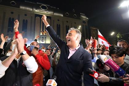В Грузии оппозиционеры отказались признать легитимность выборов