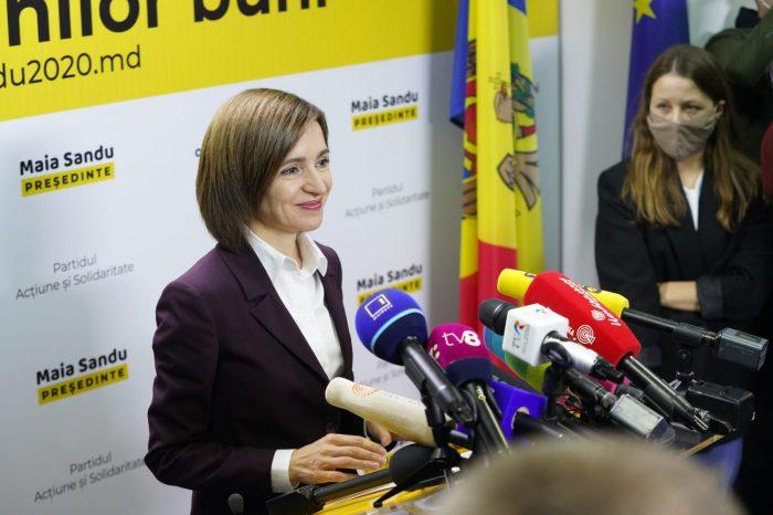 Санду не отказывается от диалога с Россией, заявил Песков