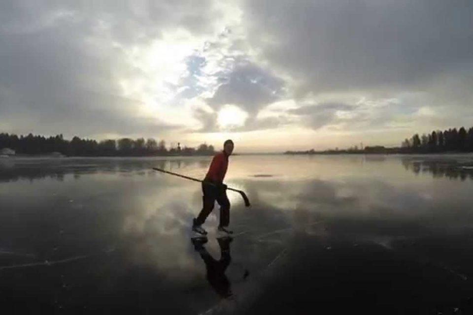 С понижением температур в ночное время суток на водоемах страны образовался слой льда
