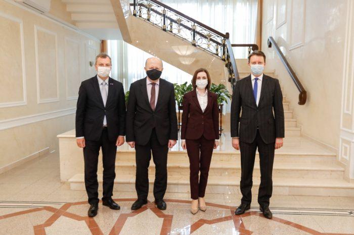 Президент Майя Санду встретилась с группой депутатов Европарламента