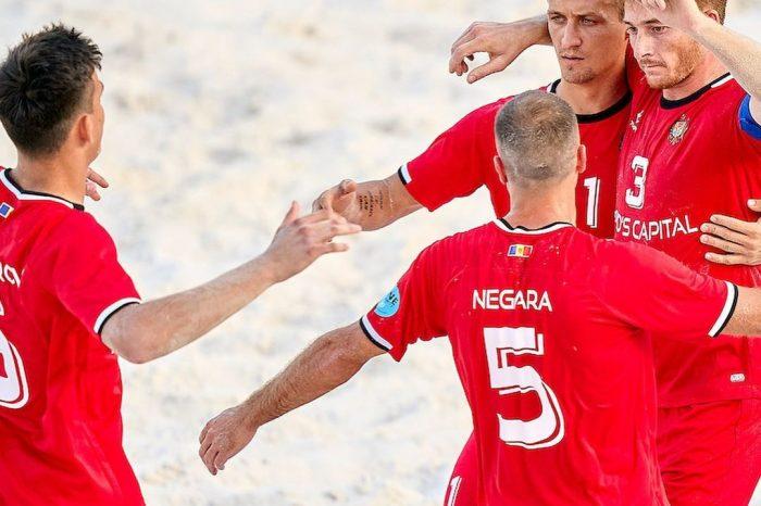 Сборная Молдовы по пляжному футболу разгромила Словакию со счетом 6-0 на ЧЕ