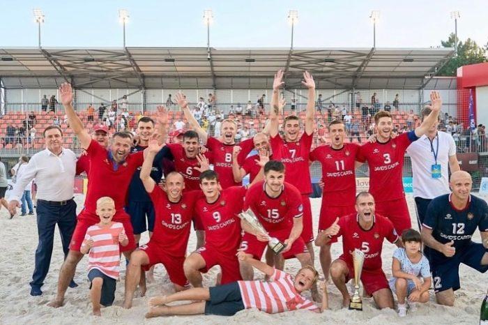 Сборная Молдовы выиграла квалификацию чемпионата Европы по пляжному футболу